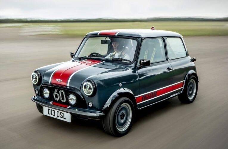 دیوید براون اتومبیل نسخه Mini Remastered Oselli Edition را معرفی می کند