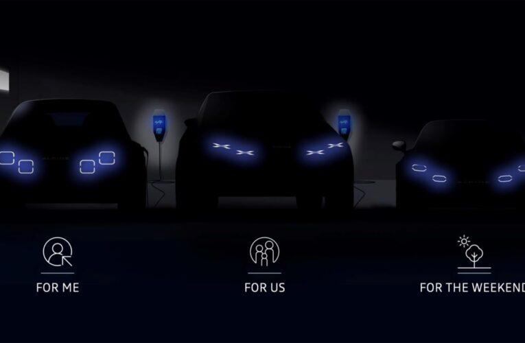 Alpine جدیدترین هاچ بک ، SUV و ماشین اسپرت جدید را رونمایی کرده است