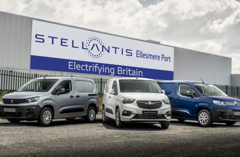 Stellantis آینده Ellesmere Port را به عنوان کارخانه ون برقی واکسهال ، پژو و سیتروئن تأیید می کند