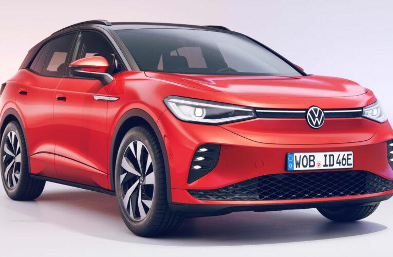اتومبیل برقی داغ فولکس واگن ID.4 GTX با قیمت 48510 پوند به فروش می رسد