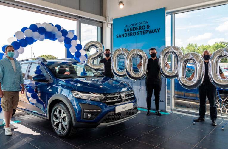 داچیا دویست هزارمین اتومبیل را در انگلیس می فروشد